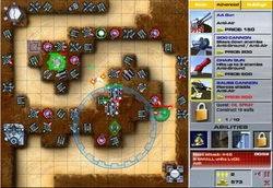 Miniclip Games Canyon Defence